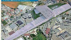 Rendering della Stazione TAV a Vicenza