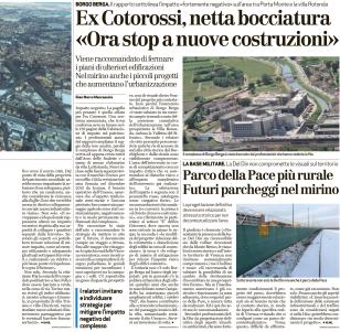 Giornale di Vicenza, 20 gennaio 2017. (pagina 2)