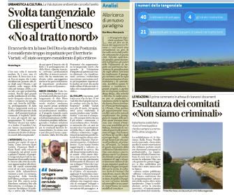 Giornale di Vicenza, 21 gennaio 2017 (pagina 1)
